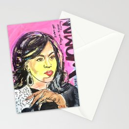 I am Woman: Michelle Obama Stationery Cards
