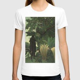 "Henri Rousseau ""The Snake Charmer"", 1907 T-shirt"