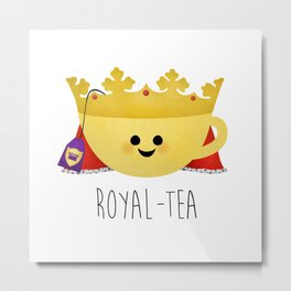 Royal-tea Metal Print