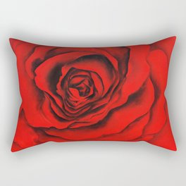 Red Roses Rectangular Pillow