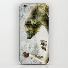 Bear, Squirrel and Kitten iPhone & iPod Skin