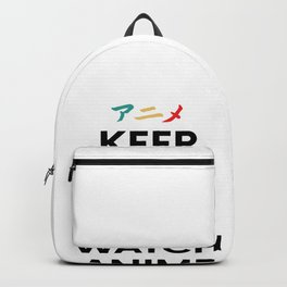 Keep Calm Anime Hentai Manga Japan Geschenk Otaku Backpack