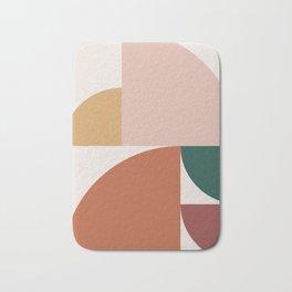 Abstract Geometric 10 Bath Mat