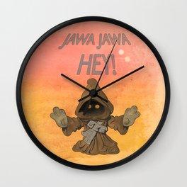 Jawa Jawa Hey! Wall Clock