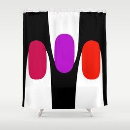 Spirit finger Shower Curtain