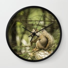 Who You Calling Squirrelly? Wall Clock