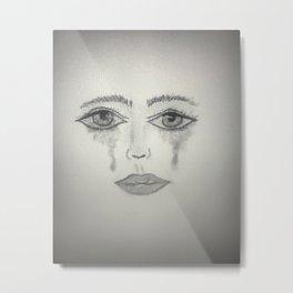 Strong Cry Metal Print