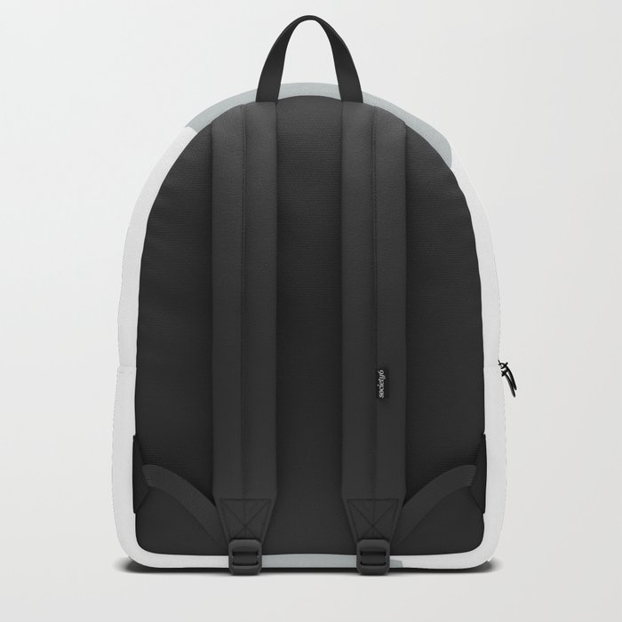Blush, gray & marble geo Backpack