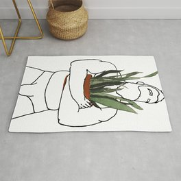 Plant-Daddy (Snake) Rug