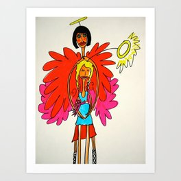 Maria, The Angel of Wholeness Art Print