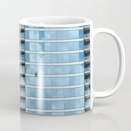 BLUE CHICAGO - CLEANING WINDOWS Coffee Mug