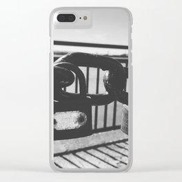 Love locks Clear iPhone Case