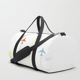 Retro Airplanes Duffle Bag