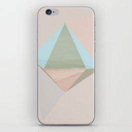 pentagonal dipyramid iPhone Skin
