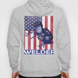 Funny Welder graphic Best Welding print Proud Welders Gift Hoody