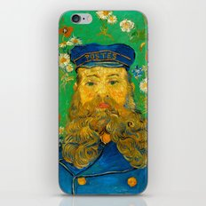 Vincent van Gogh - Portrait of Postman iPhone & iPod Skin