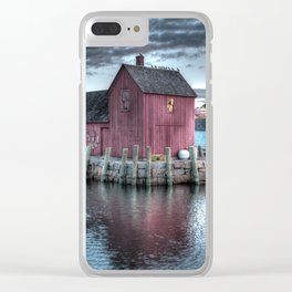 Dawn at Motif Number 1 Clear iPhone Case