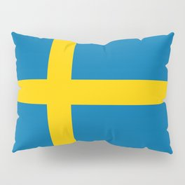 National flag of Sweden Pillow Sham