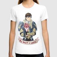 fire emblem T-shirts featuring Fire Emblem Awakening: Frederick Romance by firesonic152