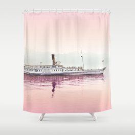 New Horizons Shower Curtain