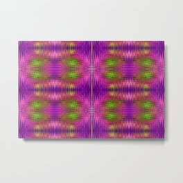 Electric Purle Metal Print