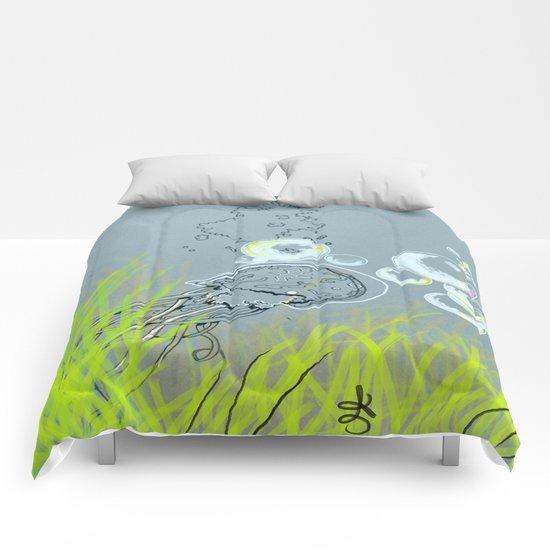 Squid Redone Comforters