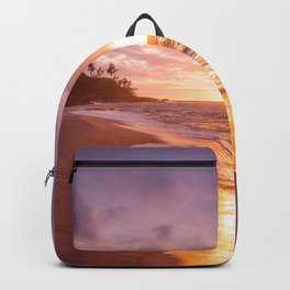 Gorgeous Sunset Beach Backpack