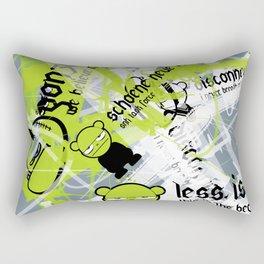 Gonzos Coded, Remixed. 2007_series03_shot10 Rectangular Pillow