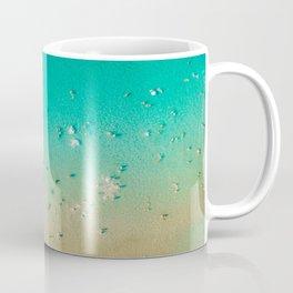 I'm A True Oceanholic | Aerial Beach Photography | Beach Wall Art Poster | People Having Fun | Ocean Coffee Mug