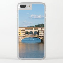 Florence: The Ponte Vecchio Clear iPhone Case