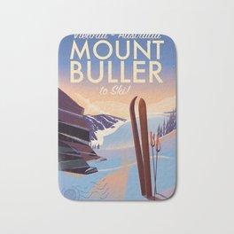 Mount Buller Australia Ski resort Bath Mat