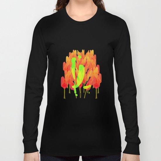 YL visiting Amsterdam Long Sleeve T-shirt