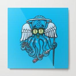 Japanese octopus tattoo artist Metal Print