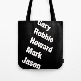 Take That. Band members. Tote Bag