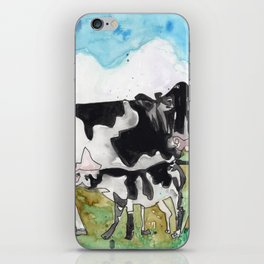 Cow Mommy iPhone Skin