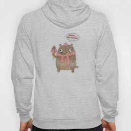 Icecream Bear Hoody