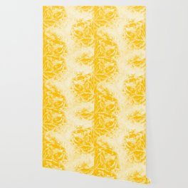 Yellow Peonies Dream #1 #floral #decor #art #society6 Wallpaper