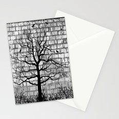 Graffiti Tree B/W Stationery Cards
