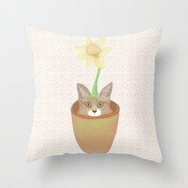 Tilly Flower Throw Pillow