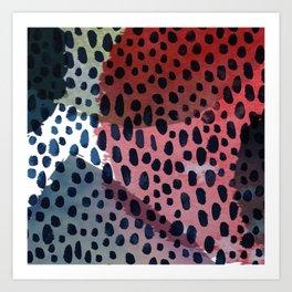 Spots & Dots Art Print