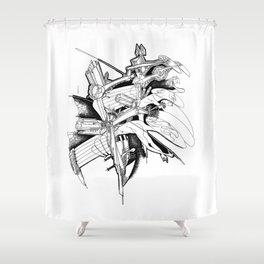 Graphics 016 Shower Curtain