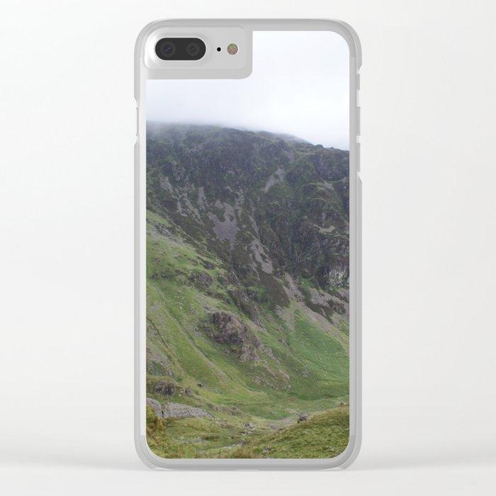 Wales Landscape 16 Cader Idris Clear iPhone Case