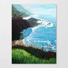 Now Entering Monterey  Canvas Print