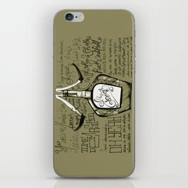 Tomé demasiado - Pappo Blues iPhone Skin