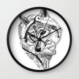An Wolf Wall Clock