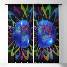 Abstract in Perfection - Rose 3 Blackout Curtain