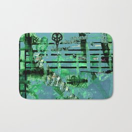 Green Dervish Bath Mat