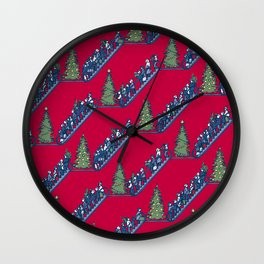 Let's Go Power Shopping! – Xmas Edition Wall Clock
