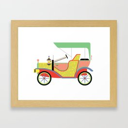 The Dream Ride in My favourite Colours Framed Art Print
