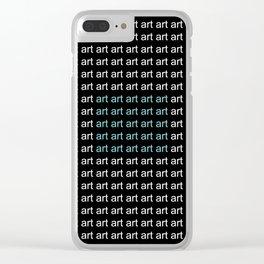 art 30 Clear iPhone Case